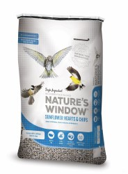 Natures Window Fine Sunflower Hearts 20lb