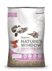 Nature's Window Blanched Peanut Splits 30 lb