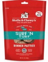 Stella & Chewys Dry Surf & Turf Dog 14oz