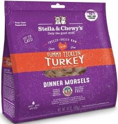 Stella & Chewys Freeze Dried Food W/Turkey 18oz