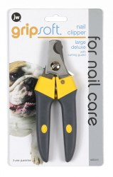 Grip Soft Lg Dlx Nail Clippers
