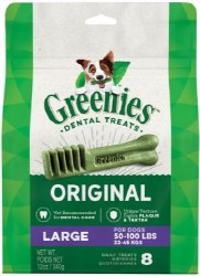 Greenies Treat 12oz Large 8 Ct