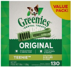 Greenies Teenie Box 36oz 130ct