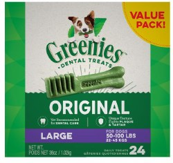 Greenies Large Box 36oz 24ct