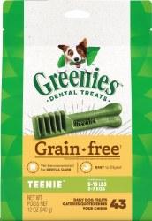 Greenie Grain Free Teenie 12oz