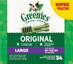 Greenies Original Large 54oz