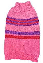 Shimmer Stripes Pink XS
