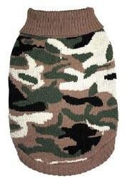 Camouflage Sweater XXL