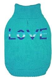 True Love Sweater Teal LRG
