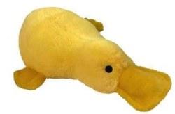 Petlou Platypus Yellow 15in