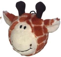 Petlou Lamb Giraffe Orange 4in