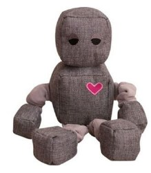 Snugz Ryder The Robot Plush Dog Toy