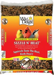 Wild Delight Sizzle N' Heat Spicy 5lb Bird Food