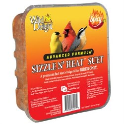 Wild Delight Sizzle N' Heat Spicy Suet 11.75oz
