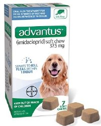 Bayer Advantus Flea And Tick Soft Chew 7 Count For Large Dogs 23-110lb