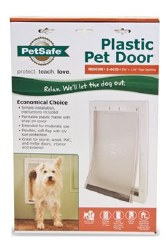 PetSafe Plastic Pet Door For Medium Pets Upto 40lbs