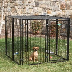 Petsafe Fencemaster Kennel System Cottageview Dog Kennel 5x5x4