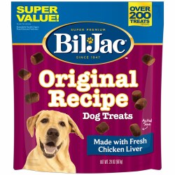 BilJac Original Recipe with Liver Soft Dog Treats 20oz