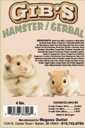 Gibs Hamster/Gerbil Food 3.5#