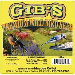 Gibs Prem Wild Bird Seed 16lb