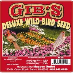 Gibs Deluxe Wild Bird 16lb