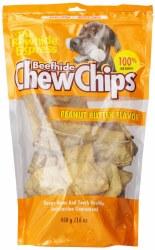 Peanut Butter Rawhide Chip 16z