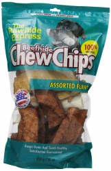 Asst Natural Rawhide Chips 1lb