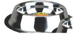 Advance 160oz Non Skid Stainless Steel Dish