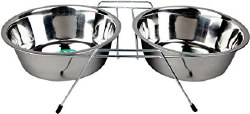 Advance 3 Quart Stainless Steel Double Diner Dish