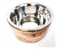 Advance Large Wood SS Bowl