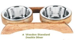 Advance 1Pt Wood BoneDD Bowl