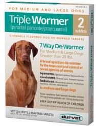 Triple Wormer Pup/Sm Dog 2 Pk