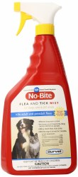 No Bite Flea And Tick Mist With IGR 32 Ounce