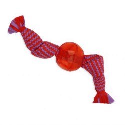 Candy Wrap W/Squeeky 3in Ball Small Outside