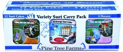 Flavor Suet 3 Pack 12-Pack