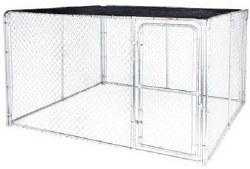 Dog Kennel 10x10 Shade Top