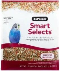 ZuPreem Smart Selects Parakeet Bird Food 2lb bag