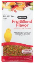 ZuPreem FruitBlend with Natural Fruit Flavors Extra Small Bird Food 14oz