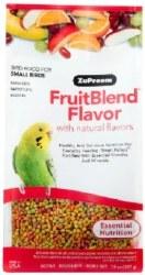 ZuPreem FruitBlend with Natural Fruit Flavors Small Bird Food 14oz