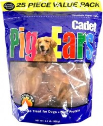 Cadet Pig Ears 25 Pack