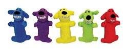 Loofa Dog Toy 6 Inch Asst