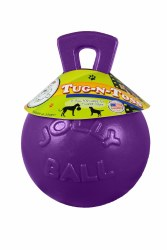 Toss N Tug Purple Ball 6 Inch