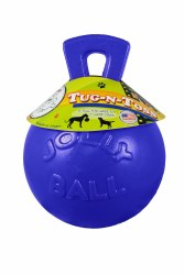 Toss N Tug Ball Blue 8 Inch