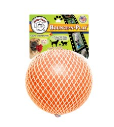 BounceNPlay Orange/Vanilla8 In