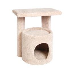 Kitty Condo With Perch 20.5 Inch