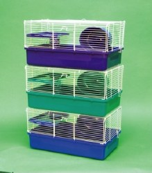 Hamster Cage 1 Story Asst