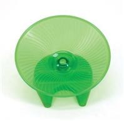 Flying Saucer Medium Toy Green