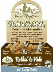 Rawhide Beef 10in Roll