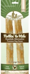 Rawhide Chicken 10in Roll 2pk