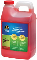 Ready To Use Premium Humingbird Nectar 64oz